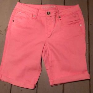 Justice Jeans Woman's shorts size 14.5 pink.